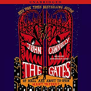 The Gates     A Novel              Auteur(s):                                                                                                                                 John Connolly                               Narrateur(s):                                                                                                                                 Jonathan Cake                      Durée: 7 h et 2 min     3 évaluations     Au global 5,0