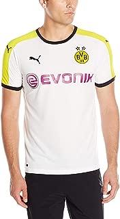 PUMA Men's BVB Third Replica Shirt with Sponsor