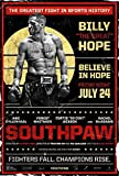 Tomorrow sunny Free Jake Gyllenhaal - Southpaw Boxing Fight Movie Star 24x43inch Poster Silk Poster Decor