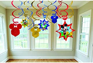 """Disney""""Mickey Mouse"""" Swirl Value Pack, Party Favor, 6 Ct"""