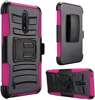 IDEA LINE Nokia C2 Tava Case,Nokia C2 Tennen Case Heavy Duty Armor Shock Proof Dual Layer Holster Locking Belt Swivel Clip...