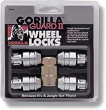 Gorilla Automotive 61631N Chrome Acorn Gorilla Guard II Wheel Locks – Set of 4..