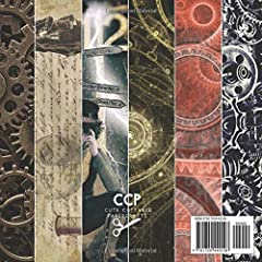 Steampunk Vintage Scrapbook Paper for Scrapbooking: Paper Crafts Supplies, Decorative Craft Papers, Backgrounds, Cardmaking, Stamp Making, Origami, ... Antique Old Ornate Printed Designs & More #1