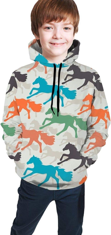 Sea Turtles Pattern Boys Girls Hoodies Kids Fashion 3D Print Hooded Sweatshirts