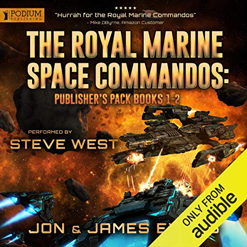 The Royal Marine Space Commandos: Publisher's Pack  By  cover art