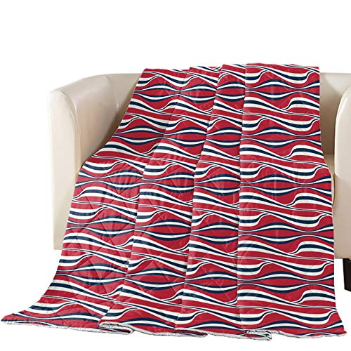 Fantastic Deal! T&H XHome Luxury Quilted Comforter Bedspread-Thin Soft Cozy,Flag Independence Day St...