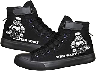Star Wars The Rise of Skywalker Cosplay Costume Canvas Shoes Sneakers