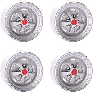 "4PCS Aluminum Alloy 1.9"" Wheels Rims for 1/10 RC Crawler Axial SCX10 II Tamiya CC01 RC4WD D90 D110 Traxxas TRX4"