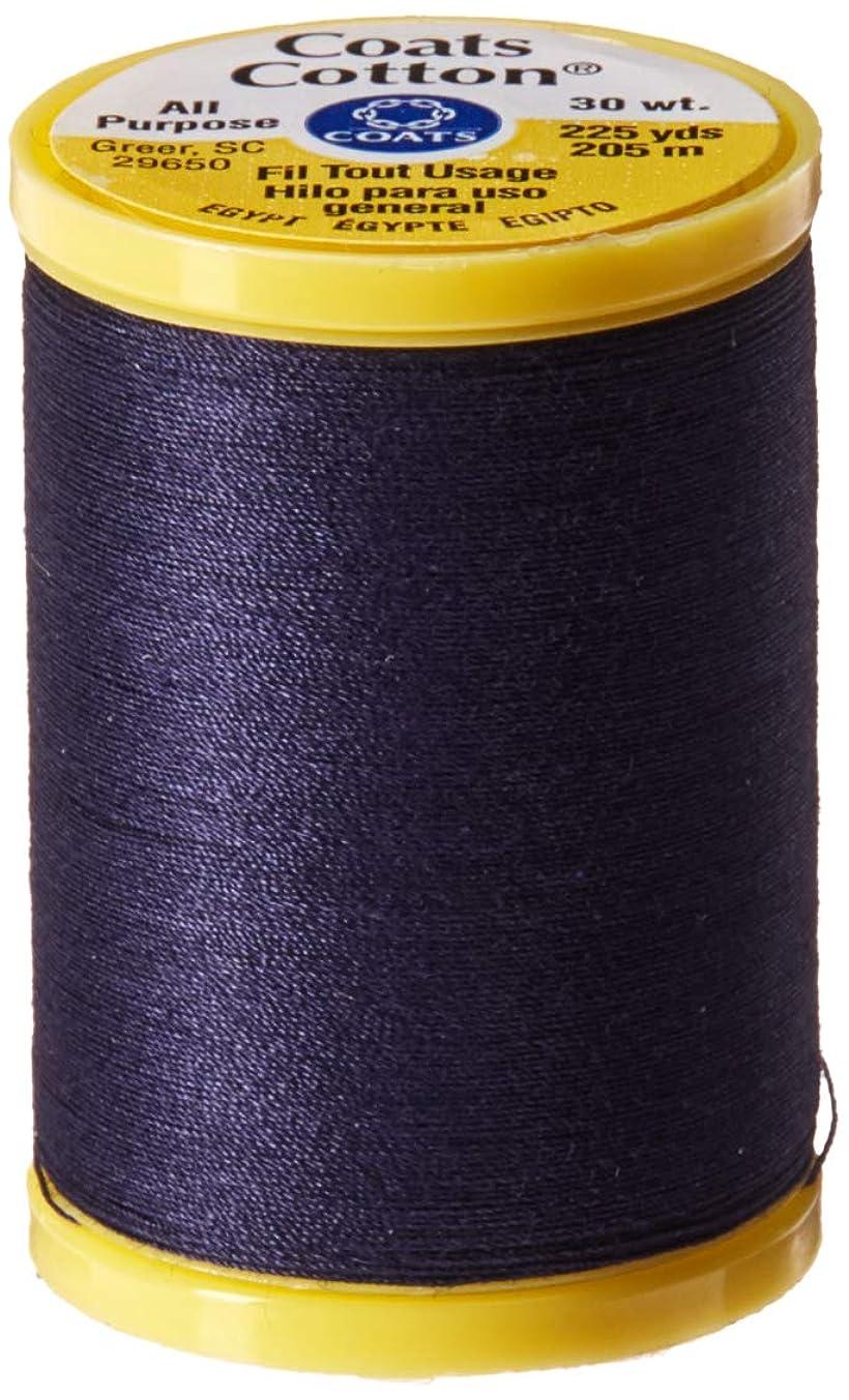 Coats: Thread & Zippers S970-4900 General Purpose Cotton Thread, 225 yd, Navy