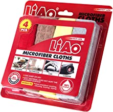 LIAO OCN-059 Microfiber Cloths (Pack of 4)