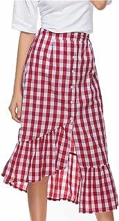 : LUBITY Jupes Femme : Vêtements