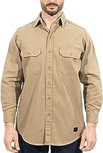 Titicaca FR Blend T-Shirts Pre-Washed Lightweight Long Sleeve Fashion Khaki Mens T-Shirts