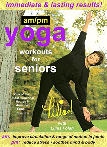 Lilias! AM/PM Yoga Workouts For Seniors, Improve Circulation, Range of Motion in...