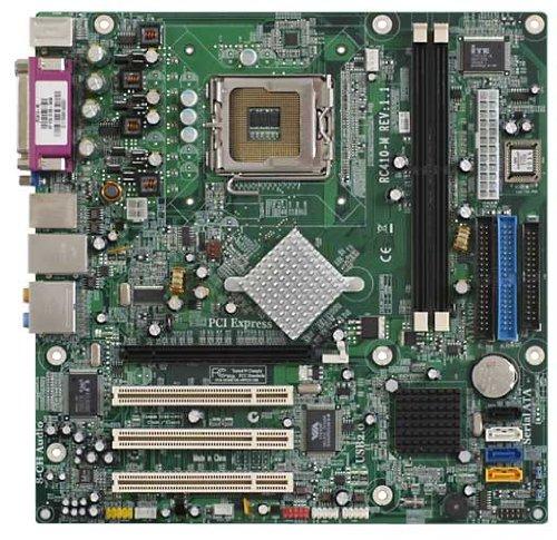 ECS rc410-m V1.1LGA775DDR2800FSB PCI-E x16SATA