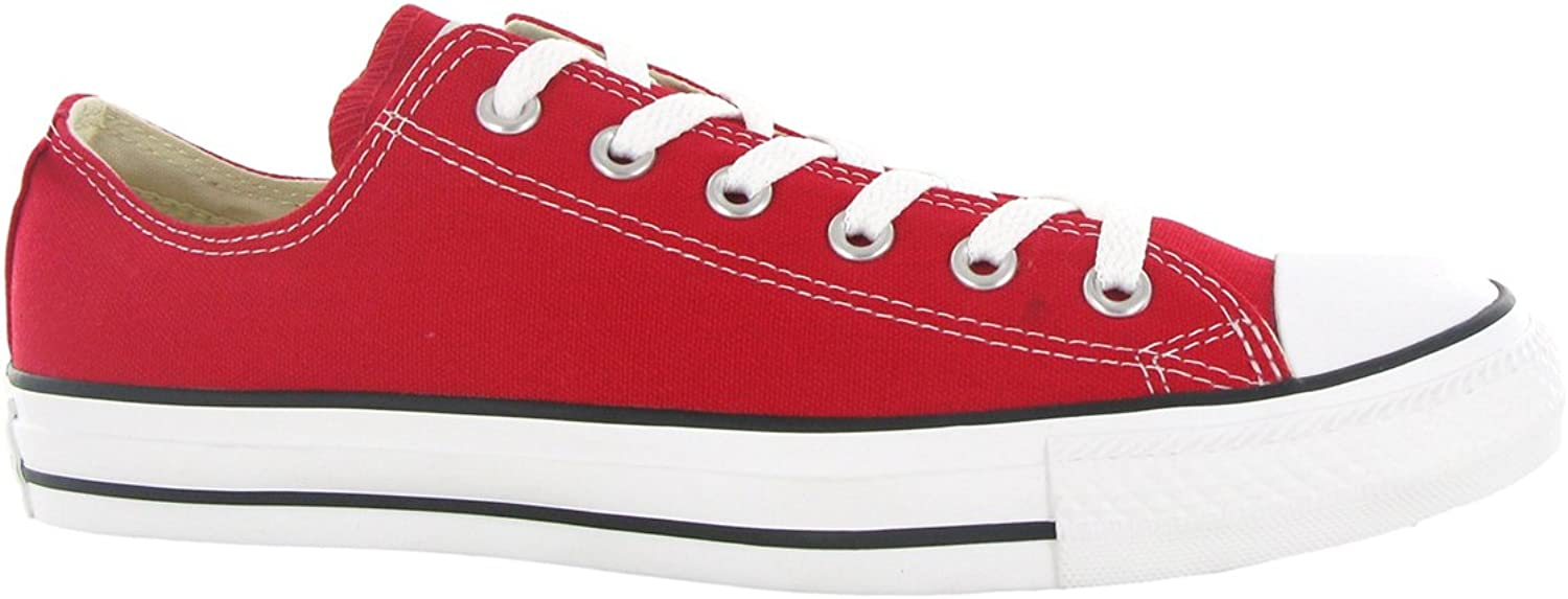 Converse All Star OX Unisex Canvas Style  M9696 (4.5 M US, Red)
