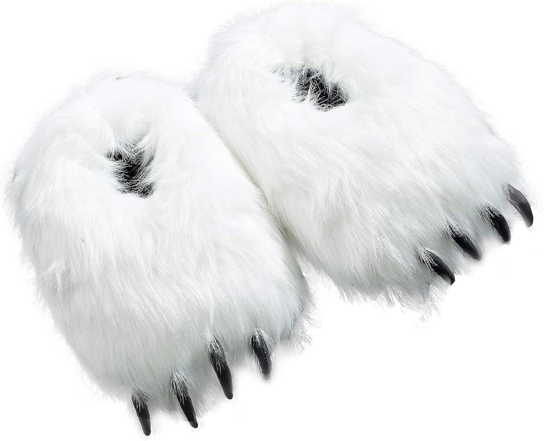 Over Super sale item handling Popuid Furry Polar Bear Slippers Pa Women House White Teens