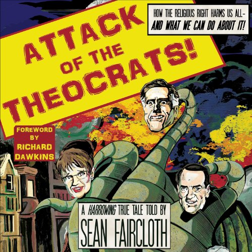 Attack of the Theocrats!  audiobook cover art