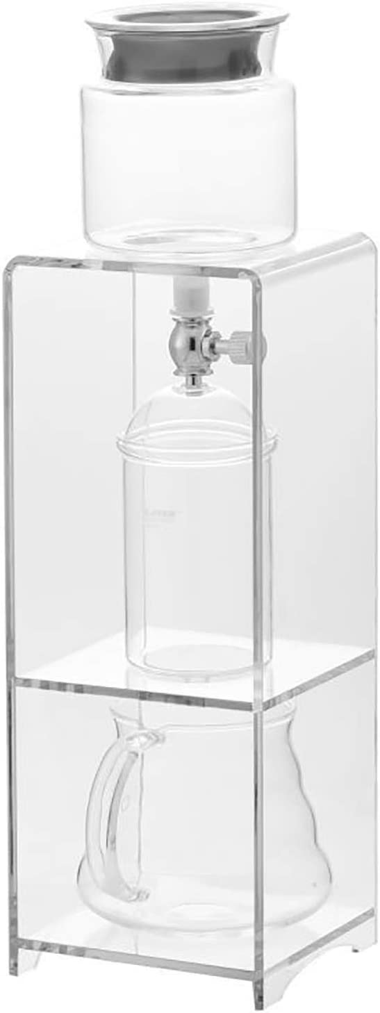 Don't miss the campaign Finally popular brand TEAYASON Acrylic Ice Drip Coffee Maker Brewed Holder I Glass