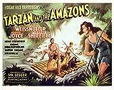 Tarzan and The Amazons Movie Poster Masterprint (35,56 x