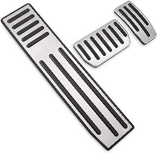 Freio do carro & Acelerador & Apoio Para Os Pés Pedal Cover Pads Substituição para Tesla Modelo X/S 1 Conjunto 3 Pcs