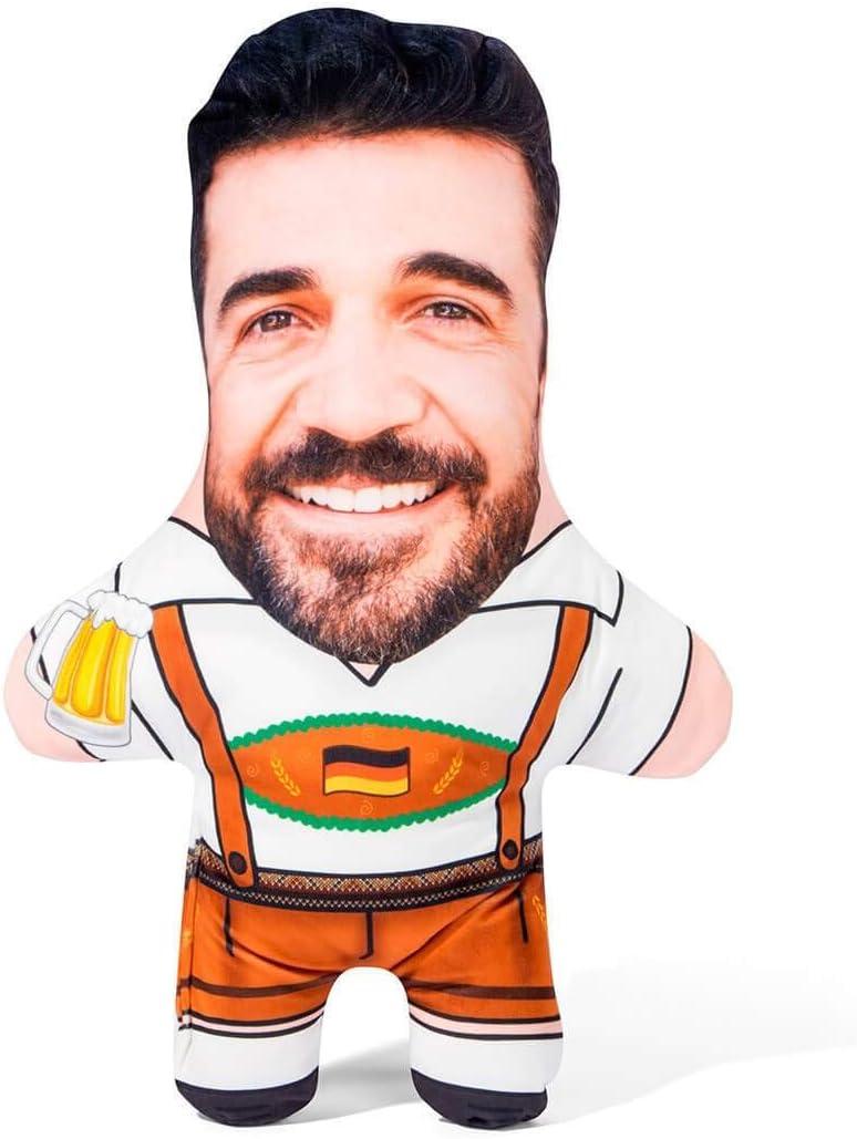 Snugzy Personalized Oktoberfest online shop Spring new work Guy Mini Face Custom Pillow Me