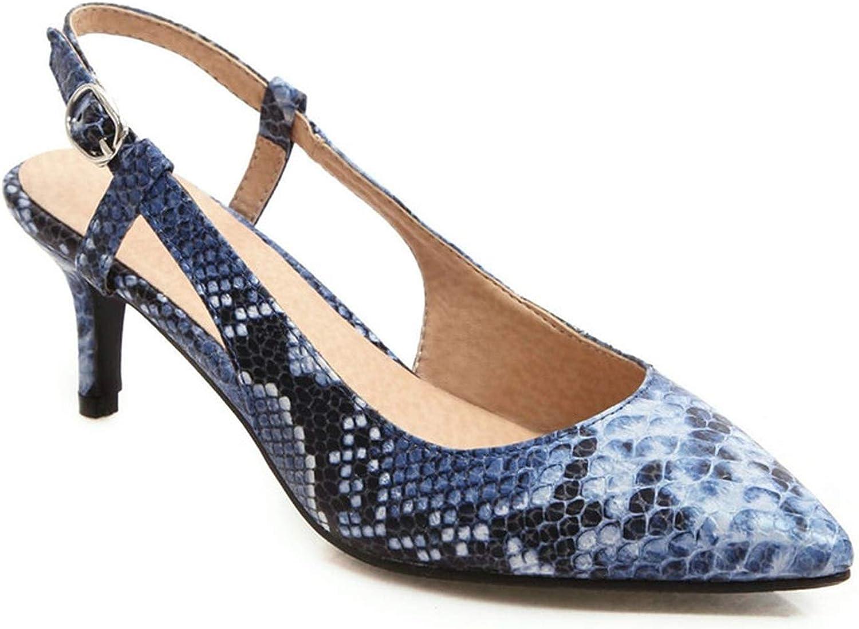 Sexy Leopard Print Sandals Women Summer Pointed Toe shoes Luxury Medium Heel Sandals