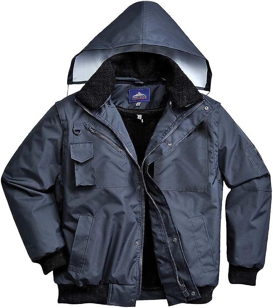 Portwest Workwear Mens 3in1 Bomber Jacket