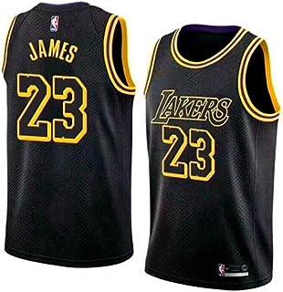 competitive price c4f93 199f5 BeKing Maillot de Basketball Homme Lebron James  23 - NBA Lakers, Nouveau  Tissu brodé