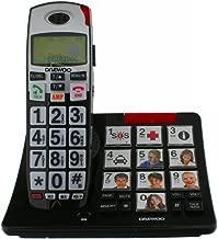 Daewoo DAE31DTD7500 - Teléfono DECT, (teclas grandes)