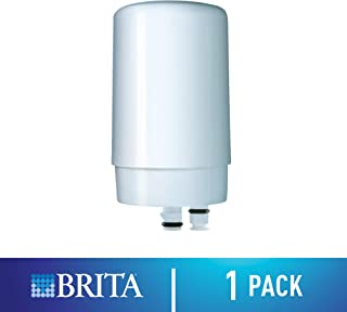 Brita Tap Water Filter, Water Filtration System Replacement Filters For Faucets, Reduces Lead, BPA Free – White, 1 Count