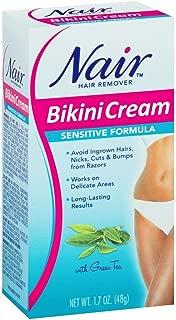 Nair Hair Remover Bikini Cream Sensitive 1.7oz (6 Pack)