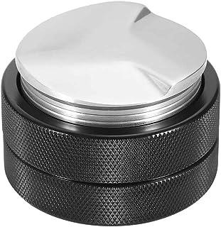 YuKeShop Distributeur de café – Machine à café – Outil de niveau, base de presse à grains de café en acier inoxydable de 5...