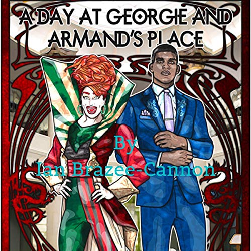 A Day at Georgie and Armand's Place  By  cover art