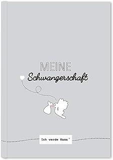 Cupcakes & Kisses CUPCAKES & KISSES Schwangerschaftstagebuch I Tagebuch für die Schwangerschaft zum eintragen I Tolles Geschenk für Schwangere und werdende Mütter