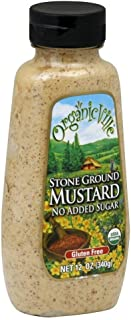 Stone Ground Organic Mustard 12 Ounces (Case of 12)