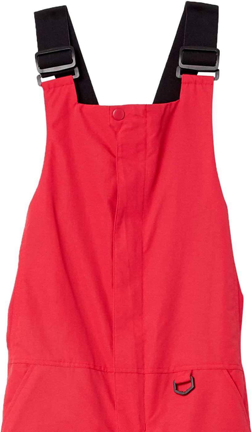 Essentials Womens Water-Resistant Full-Length Insulated Snow Bib