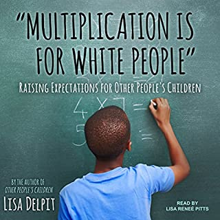 """Multiplication Is for White People"" audiobook cover art"