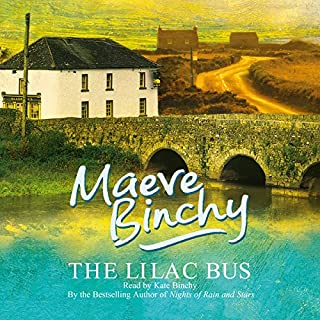 The Lilac Bus                   By:                                                                                                                                 Maeve Binchy                               Narrated by:                                                                                                                                 Kate Binchy                      Length: 5 hrs and 36 mins     23 ratings     Overall 4.4