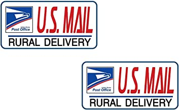 Mail Frequent Stops 18 Long car Window Decal Sticker HM1435 thatlilcabin U.S