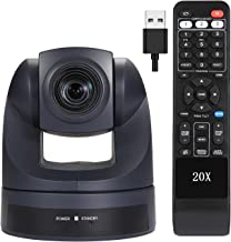 Video Conference Camera HD 1080P USB PTZ 20X Optical Zoom Webcam, Conference Camera for Live Streaming Business Meetings S...