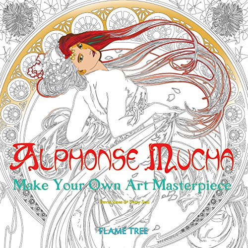 Alphonse Mucha (Art Colouring Book): Make Your Own Art Masterpiece (Colouring Books)