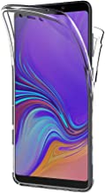 AICEK Funda Samsung Galaxy A9 2018, Transparente Silicona 360°Full Body Fundas para Samsung A9 2018 Carcasa Silicona Funda Case (6,3 Pulgadas)