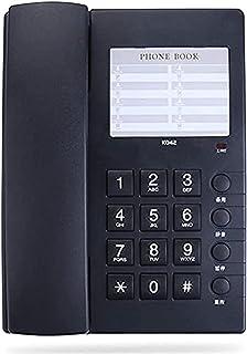 電話番号カードミュートビッグボタンホームホテル有線デスクトップホームホテル有線デスクトップ black