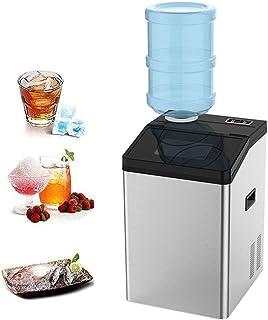 ZJZ Machine à glaçons Automatique 2 en 1, Petit comptoir Portable, Barres de Cuisine électriques à Usage Domestique, Robin...