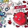 """Kami Idea Orecchini, Regina Meravigliosa, Cristallo di Swarovski, Elegante Portagioie, Regalo per la Mamma (collana donna """"Ich liebe dich für immer"""") #4"""