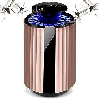 Lámpara Antimosquitos Portátil, Antimosquitos Electrico Asesino de Insectos UV, Repelente de Mosquitos Trampa de Insectos Mosquito Killer Trampa de Mosquitos para Acampar al Aire Libre