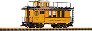 Piko G Scale Train D&RGW Drovers Caboose 215 Yellow 38602