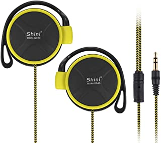 Moving-coil Clip-On Headphones with 30 mm Drive Units, Lightweight Wired Stereophone Ear Clips Earphone - 1/8-inch/3.5 mm Plug for iPod, iPhone, MP3 and Smartphone