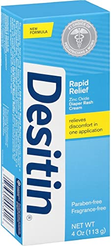 Desitin Johnson's Rapid Relief Cream, 4 Oz