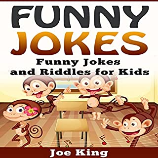 Funny Jokes: Funny Jokes and Riddles for Kids audiobook cover art